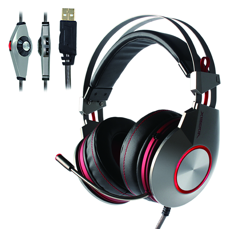 Original Xiberia K5 Gaming Headset for PS4 New xbox One With USB+3.5MM / USB 7.1 Game Headphones PC Gamer Headset Mic Led Ligh