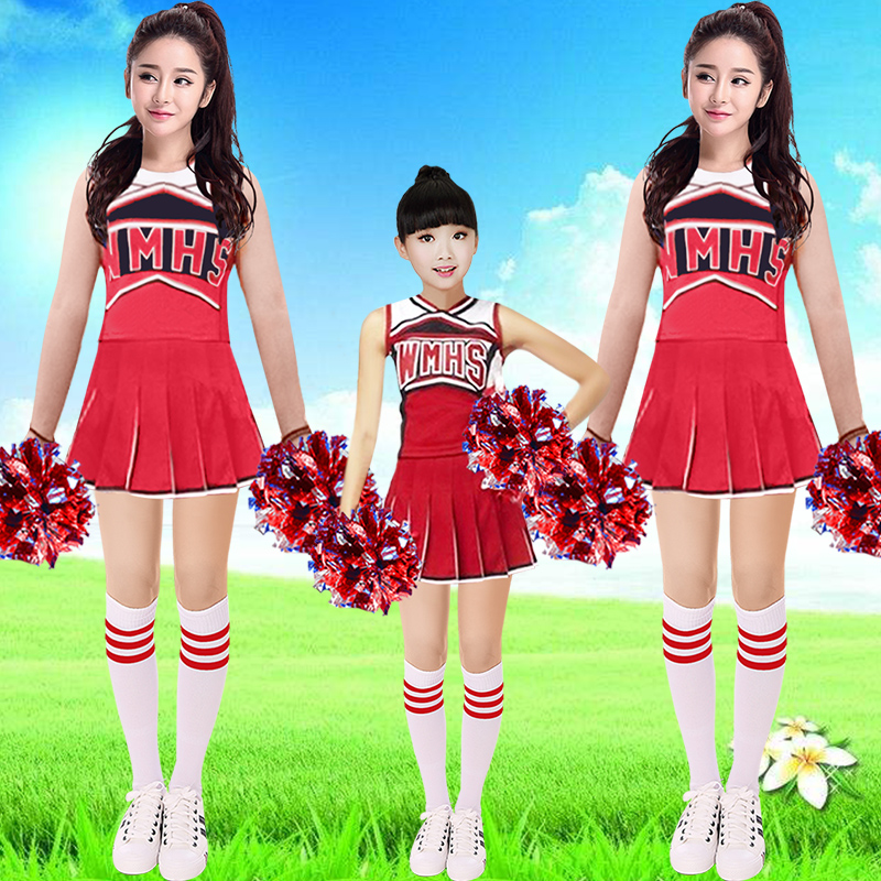 Cheerleader Costume New cheerleading costume adult children female models Korean costume dress