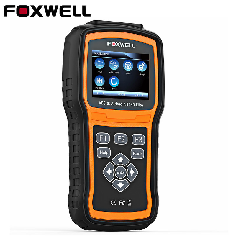 OBD2 Scanner Foxwell NT630 Elite OBD 2 ABS Airbag SRS SAS Crash Data Reset Auto ODB2 Car Diagnostic Tool OBD Automotive Scanner(China)