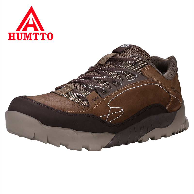 Waterproof Camping Hiking Shoes Genuine Leather Trekking Mountain Sneakers Profession Outdoor Wear Resistant Walking Men Shoes aqua two outdoor camping men sports hiking shoes genuine leather boots walking sneakers wear resistance lace up shoes es 101022