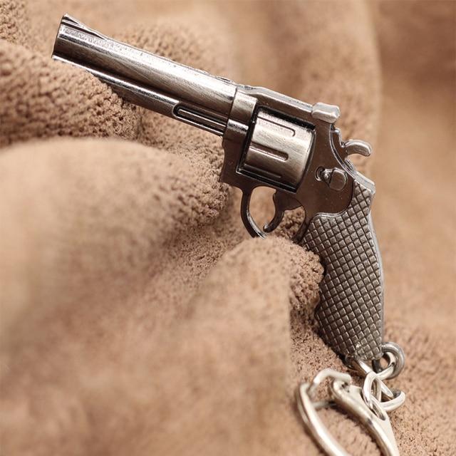 1 Pcs High Quality New Arrival Mini Gun Key Chain Classic Retro Fashion Men Wome