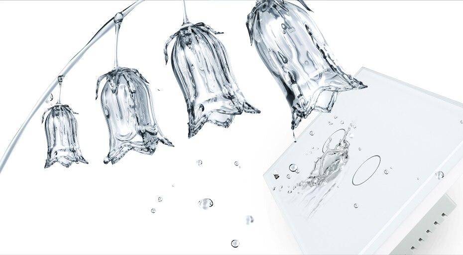 Livolo слоновая кость белый кристалл стеклянная панель, стандарт США/Австралии настенный выключатель, VL-C302D-81, диммер сенсорный домашний настенный светильник