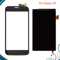 100% Tested OK High Quality For Explay X5 LCD Display LCD Display+Touch Screen Replacement