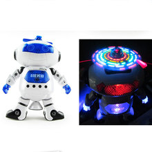 2017 Stunt Kids Robot Superhero Dance Robots With Light Music Musical Toys Action Figures For Children Infant Adults @ZJF
