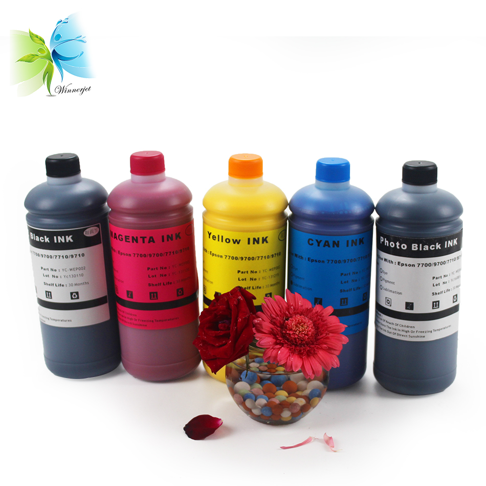 Winnerjet HDY UltraChrome Ink for Epson Stylus Pro 7700 refill dye inks in Ink Refill Kits from Computer Office