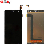 BKparts Original Quality 100 Tested 1pcs For Wiko Robby Full LCD Display Touch Screen Assembly Glass