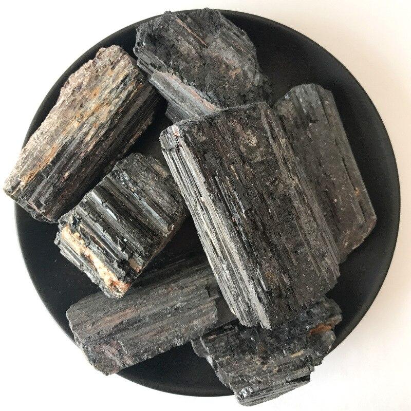 200g Preto Natural Turmalina Pedra Preciosa de