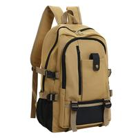 Men Vintage Design Travel Backpack Casual Canvas Backpacks Bag Male Luxury Large Capacity Retro Waterproof Tote Backpacks#22 Men's Backpacks