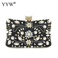 2019 YYW Diamond Evening Bag Gold Silver Clutch Bags Wedding Purse Rhinestone elegant gold tasche Handbag Black Blue Clutches цена 2017