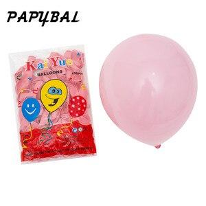 Image 3 - 12pcs 2.3g Pink White 2.8g Transparent Balloons Latex Helium Happy Birthday Party Supplies Baby Shower Wedding Decro Balls