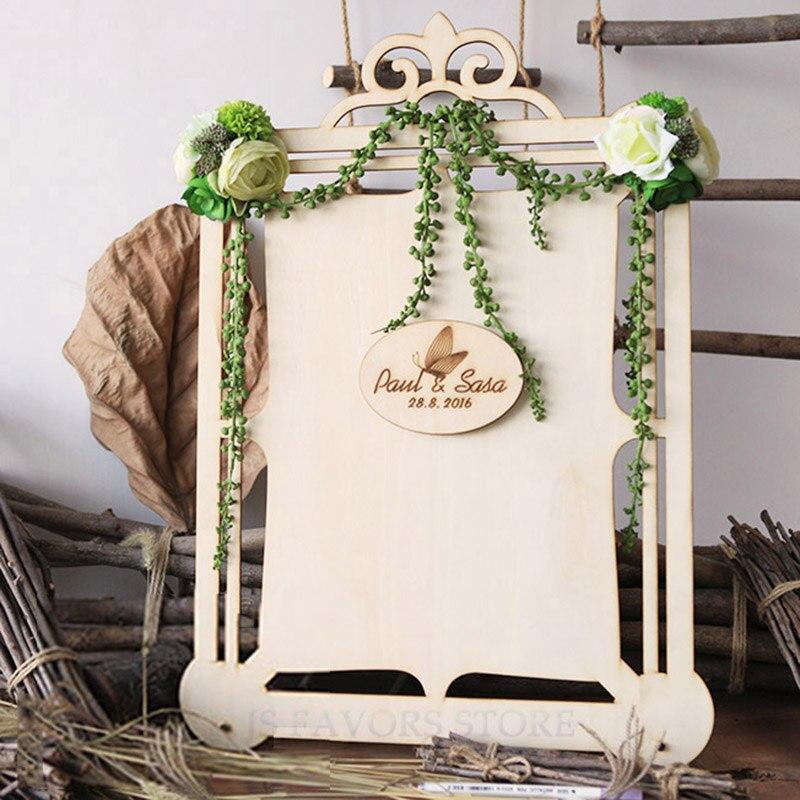 Livraison gratuite 1 pièces nom personnalisé temps logo plantes succulentes comme anniversaire de mariage ou fête table carte signe personnel mise en page