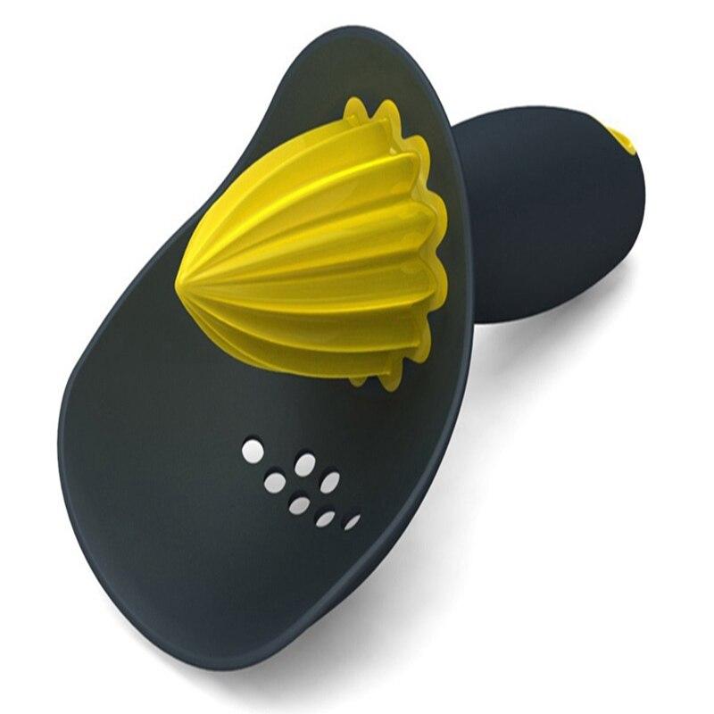 Главная Оранжевый Лимон соковыжималка Инструмент Пластик удобный ручной соковыжималка для цитрусовых Кухня Пособия по кулинарии