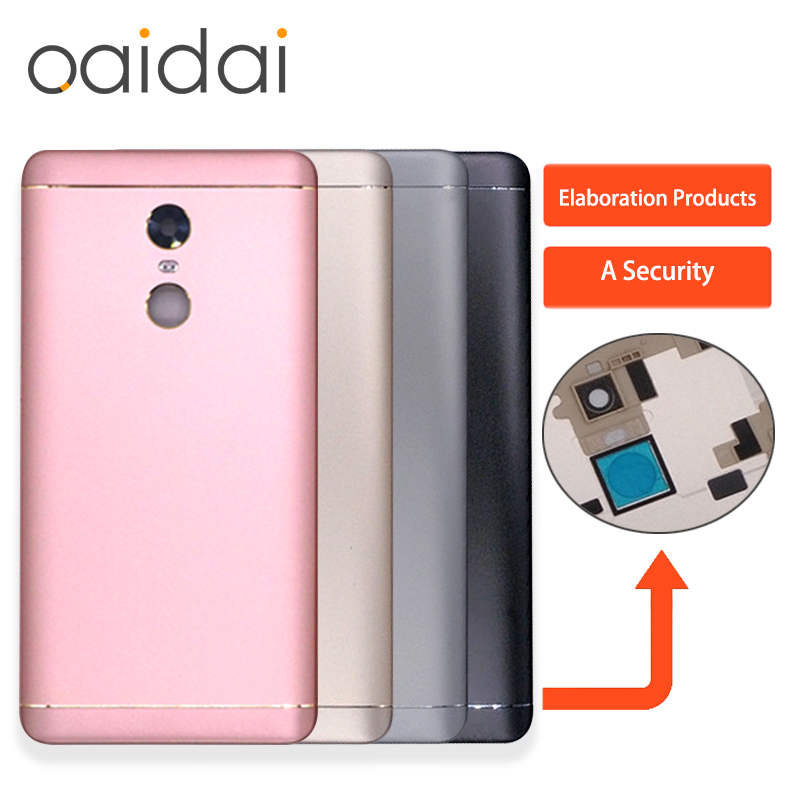 Battery Cover Back For Snapdragon 625 or MTK X20 Version Back Housing For XIAOMI Redmi Note 4X Door For XIAOMI Redmi Note 4X Pro