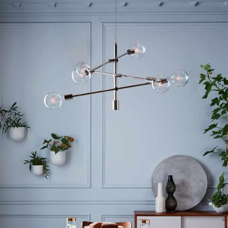 Nordic Postmodern креативная индивидуальность Art Стиль железный подвесной светильник кафе ресторан украшения гостиной лампы Бесплатная доставка