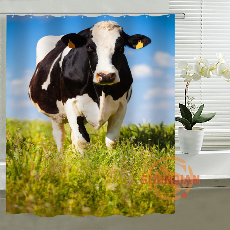 cow shower curtain - Popular Cow Shower Curtain-Buy Cheap Cow Shower Curtain Lots From