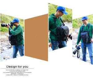 Image 3 - DSLR Camera Bag Handbag Telephoto Lens Pouch Case Waterproof Multi function for Canon Nikon Sony 70 200mm 2.8, 80 400 100 400 mm