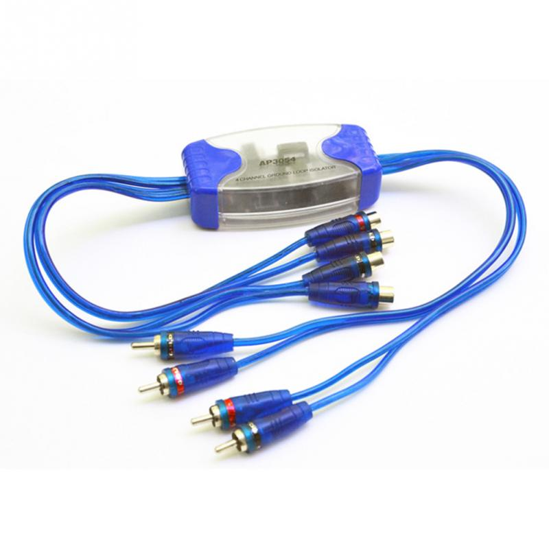 Ny Shipping Ground Loop Isolator Noise Suppressor Filter Killer Rca To Rca 20A