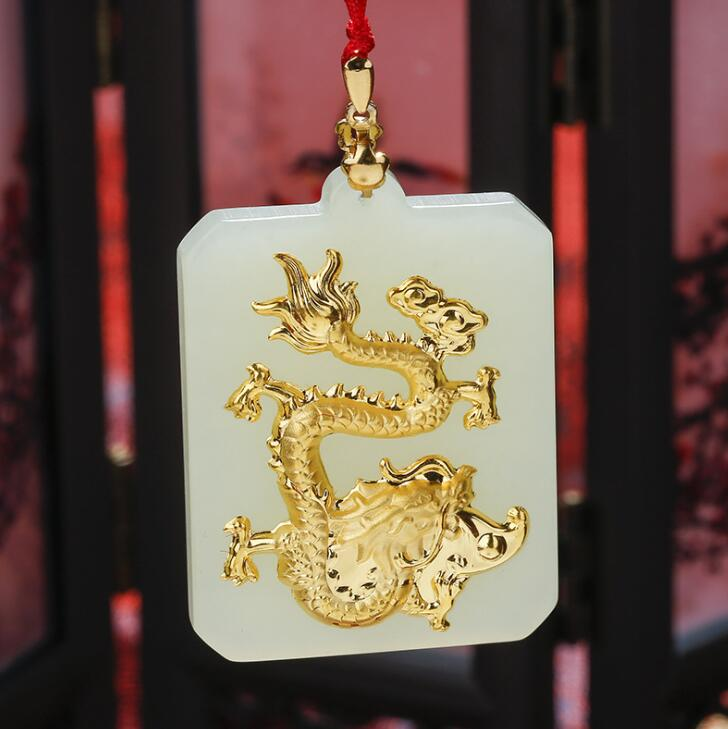 New Arrival 2018 3D Dragon Jade Good Quality Pendant On Hot Sales Men Women Necklace Gift Jewelry New Arrival 2018 3D Dragon Jade Good Quality Pendant On Hot Sales Men Women Necklace Gift Jewelry
