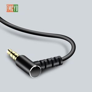 Image 3 - 3.5 Aux Cable 1m Extension Aux Cord 3.5 Jack Male to Male Aux Cable Spring for Car Iphone