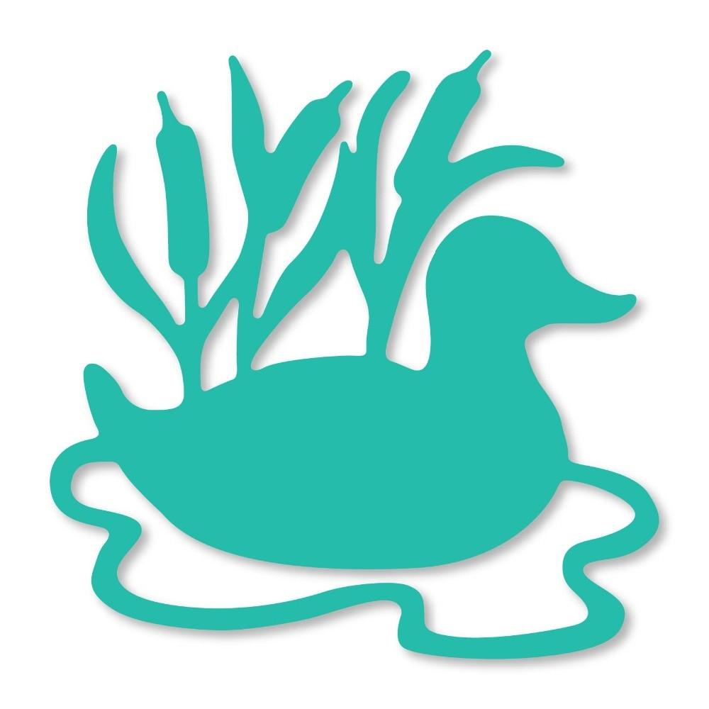 Duck /& Reeds Stencil