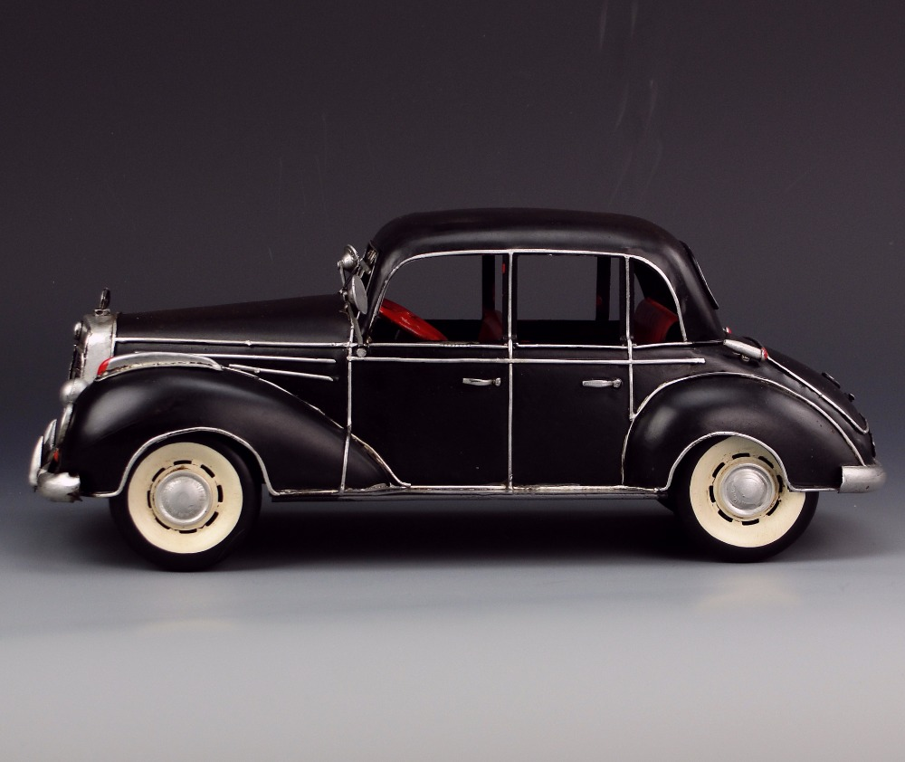 Vintage iron car model vintage car decoration ornaments creative ...