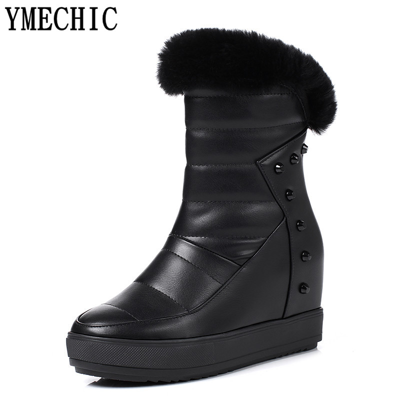 Popular Snow Boots Women White Fur-Buy Cheap Snow Boots Women ...