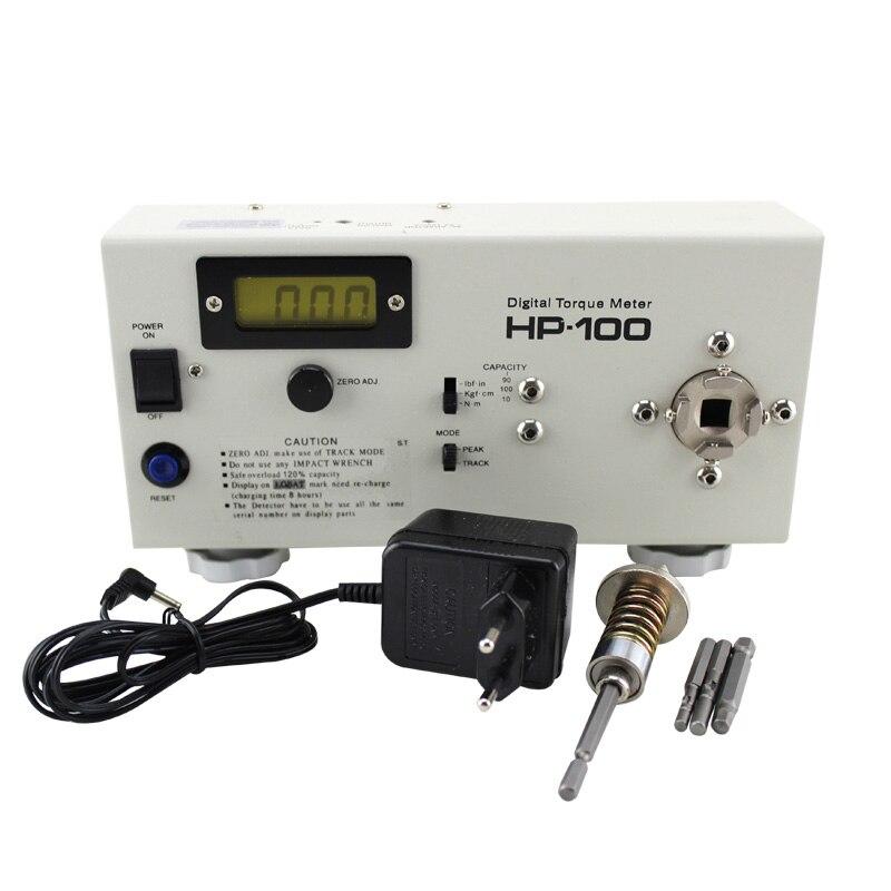 HP-100 Numérique Couple Mètre tournevis Clé mesure Testeur avec d'étalonnage Y