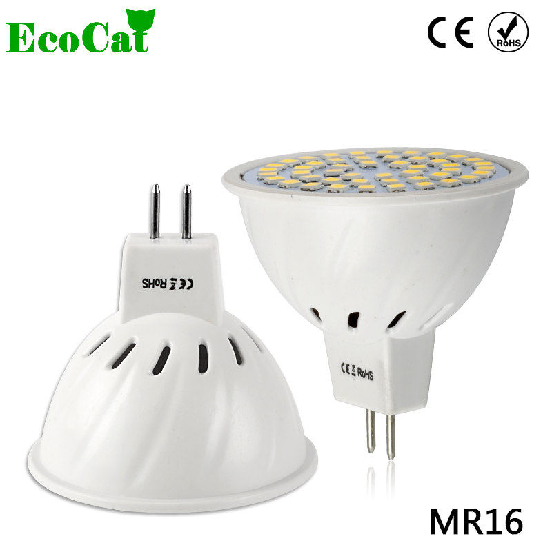 ECO CAT Bright Lampada LED Bulb MR16 220V 230V Bombillas LED Lamp Spotlight 3W 5W 7W 9W Lampara Spot Light GU5.3 Spotlight new mini e14 led bulb light 9w 7w led bulb 3w 5w 220v led lamp e14 cool warm white lampara led candle spotlight lampada led