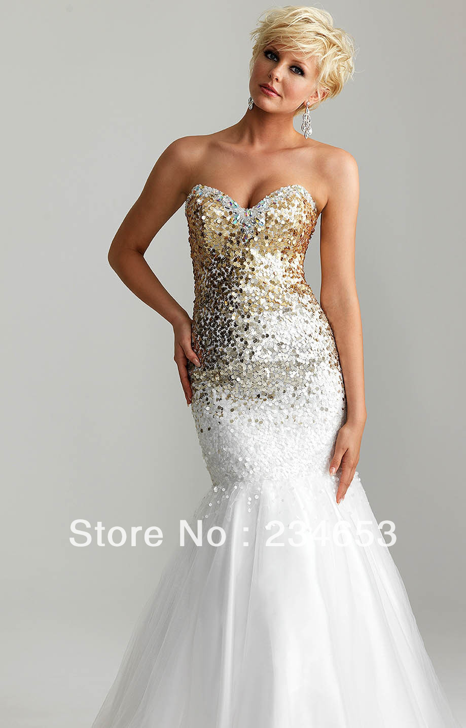 275f4d89c8 Gold And White Prom Dresses Mermaid - Data Dynamic AG