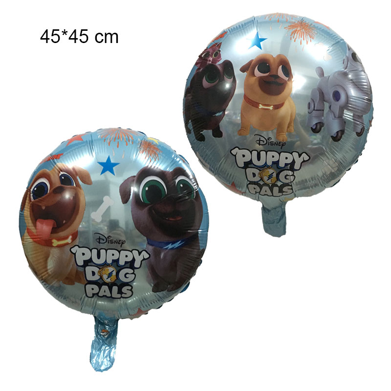 Puppy Dog Pals Foil Balloons 18 Inch Fun Loving Pug Puppies Balloon