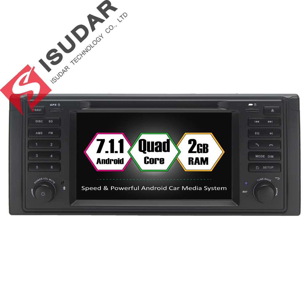 Android 7 1 1 7 Inch In Dash Car DVD Player Multimedia For BMW E39 X5