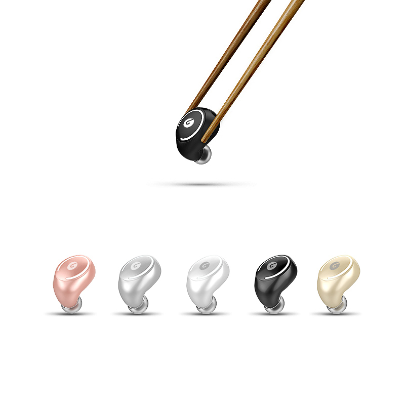 ZY13 Mini Bluetooth Earphone Small Portable Wireless headset Invisible Handsfree Earbuds Stealth headphones for phone