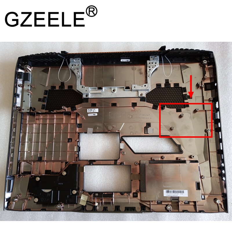 GZEELE NEW laptop Bottom Base Cover Bottom Case For ASUS G752 G752V G752VM G752VS G752VY G752VT lower cover 17.3