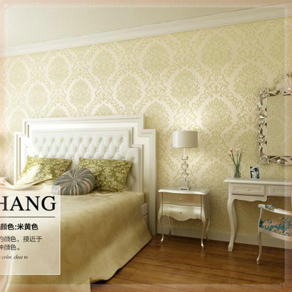 Luxury Living Room Backdrop Art Design Wallpaper Bedroom