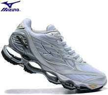 Mizuno Wave PROPHECY 6 Professional Women Shoes Running Shoes Sport Sneakers Weightlifting Shoes Stable Sports WHITE Size 36-41