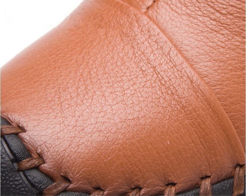 Red Terciopelo Mano Botas Con Mujeres Plana wine Las gray Casual brown A Hecha Black Mujer Zapato Zapatos De Cómodo Bottines Invierno qRz0I