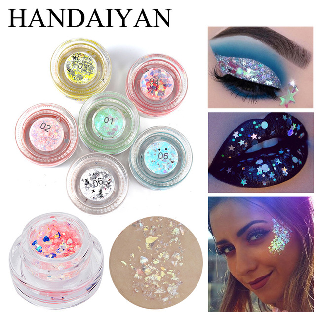 Makeup Glitter Body Spangles For Body Art Sparkling Tattoo Powder Glitters Eyes Face Nail Sequins Gel Party Festival Make Up Body Glitter Aliexpress