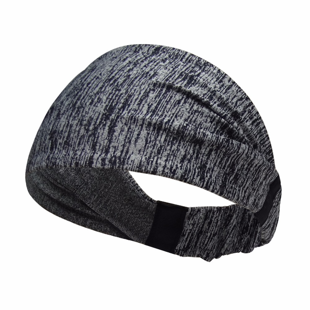 Elastic Men Women Sport Headband Wide Hair Band Fitness Yoga Sweatband Gym Running Tennis Basketball Athletic Band