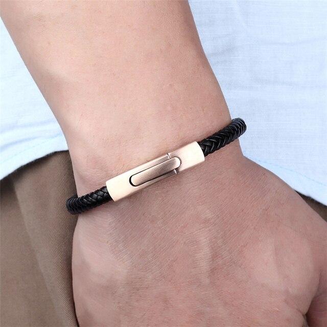 Janeyacy новый креативный браслет из кожи и нержавеющей стали