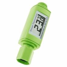 professional waterproof digital lcd display standard shower head water thermometer bathroom accessories plug and play