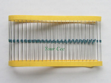 100 шт. Соответствует Свинец Металлопленочный Резистор 1/6 Вт Вт 47 К ом 47KR 1% Допуск Точности