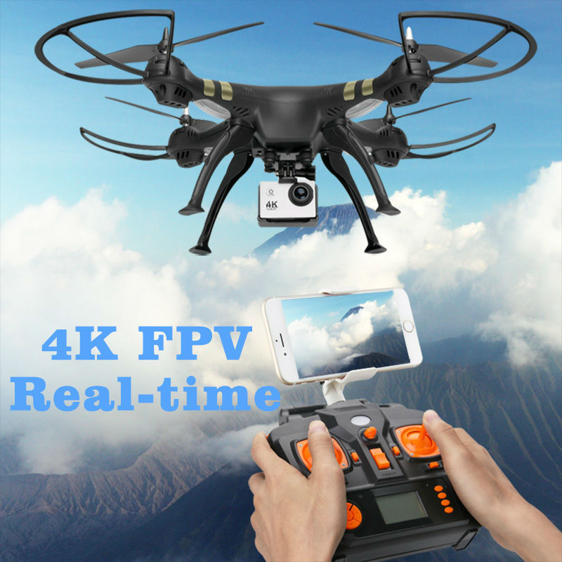 GPS Drone Follow Me FPV Helicopter With 1080P HD 5MP Wide-Angle Camera Auto Return Altitude Hold Headless Mode Dron Professional 7