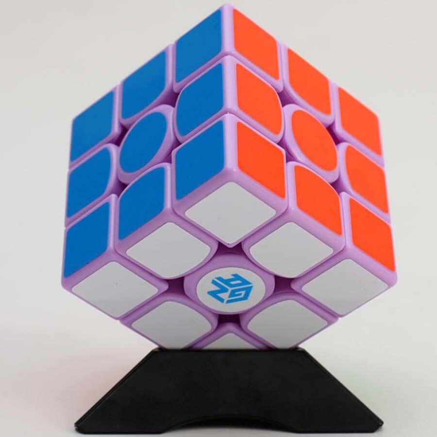Gan 356 Air Macaron Violet Édition Limitée Magie Cube 3x3x3 Éducatifs Jouets D'apprentissage Pour Les Enfants Garçons filles Cubo Magico