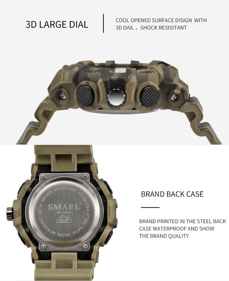 10 black army watch