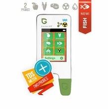 Greentest エコ 5F 新! 高精度食品、肉、魚硝酸テスター、水 tds 、放射線検出器/ヘルスケア