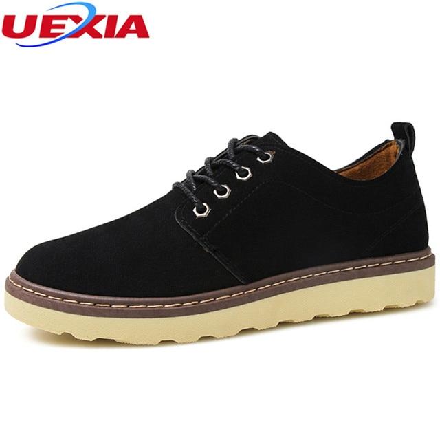 f632804e0 Moda Confortável E Casual Sapatos de Trabalho Respirável Men Flats Costura  Martin Sapatos Zapatos Hombre Masculinos