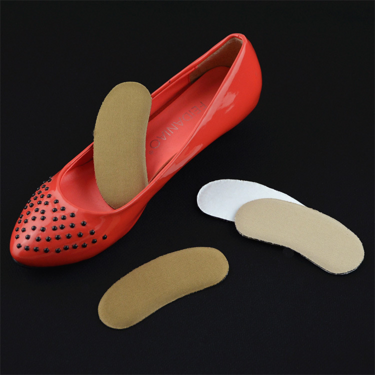 100 Pairs/ Lot Sponge Hight Heel Cushion Pad Sticker Soft Comfortable Heel Pad Pain Relief soft laser healthy natural product pain relief system home lasers