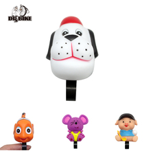 Фотография Drbike Cartoon Bicycle Bell Silicon Rubber Air Horn Bell Bike Bell Cycling Handlebar Bell for Kids Bicycle accessories