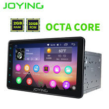 JOYING PX5 Octa 8 Core 2GB RAM Android Car Radio for Toyota Prado Stereo head unit for RAV4/Corolla/Hilux Support Apple-carplay
