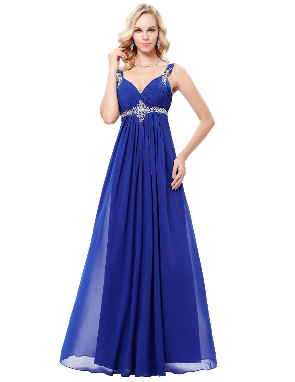 HTB1rl7xOFXXXXX9XXXXq6xXFXXXgLong Formal Dress Elegant Floor Length Chiffon Dress